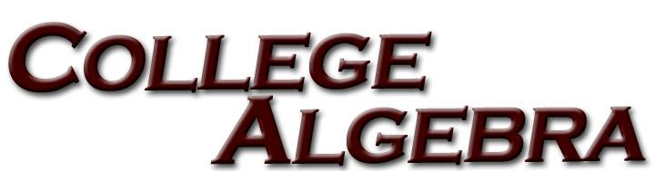 What to Do If You Need Help With College Algebra Image